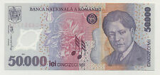 Romania 50000 Lei 2001 Pick 113.a UNC Uncirculated Banknote