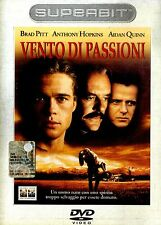 VENTO DI PASSIONI Brad Pitt Anthony Hopkins DVD Superbit FILM SEALED