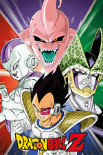 Dragon Ball Z Poster - Villains - New Japanese Manga poster FP4012