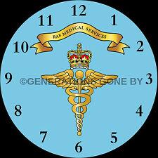 ROYAL AIR FORCE i servizi medici vetro Orologio da parete