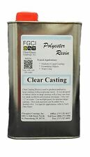 Clear Casting Polyester Resin, 1 Quart 128747