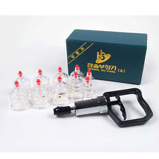 Hansol Massage Cupping Set 10 Cups High Quality Vacuum Therapy Acupuncture