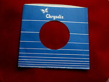 "CHRYSALIS~N-1 ~ VINTAGE ORIGINAL ~ RECORD COMPANY SLEEVE ~ 7"" SINGLE 45 RPM"
