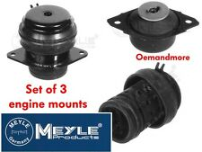 SET OF 3 MEYLE ENGINE MOUNTS GOLF MK3 2.8 VR6