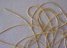 Check Purl. Gold Bullion for Metal Thread Embroidery