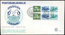 Suriname 1976 Air Booklet Pane FDC First Day Cover #C30171