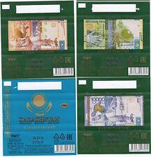 set wrapper mini chocolate banknote of KZT,money tenge Kazakhstan-2016