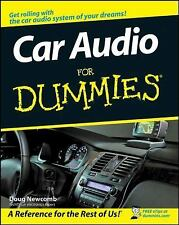 Car Audio For Dummies by Newcomb, Doug