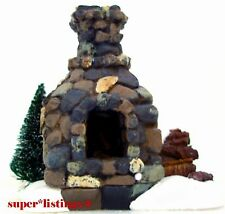 Dept. 56 Fieldstone Fireplace Retired 2003 General Village New 53010