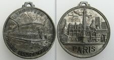 Collectable French Medal / Medallion - Vedettes Paris Tour Eiffel