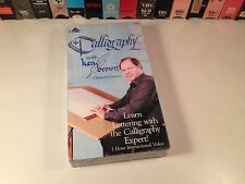 Calligraphy With Ken Brown: Chancery Cursive Rare VHS Art Lettering Instruction