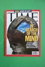 TIME rivista magazine JULY 31 1995 IN SEARCH OF THE MIND BOSNIA:BOMBS OR BLUFF?