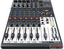 Behringer 1204USB Xenyx USB 8-channel Mixer w/ One-knob Compression ** MINT **