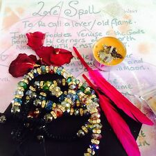 SPELL KIT ReUnite Love Bracelet ~Wicca Witchcraft~love BRACELET~Occult-Ex back.