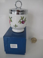 RARE Vintage Royal Worcester UNICA TAGLIA UOVO coddler Covent Garden Boxed... piccole