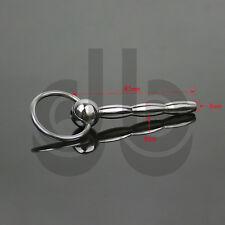 In acciaio inox Uretrale Sound-Dilatatore CBT Plug Tubo CATETERE Pene Anello ffa089