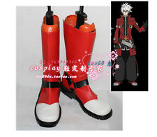 BlazBlue Ragna The Bloodedge Cosplay Boots shoes S008