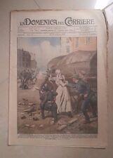 LA DOMENICA DEL CORRIERE 22-29 DICEMBRE 1918 PRIMA GUERRA MONDIALE N. 51 TORINO