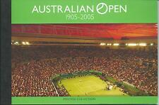 2005 Australian Open Prestige collection  Stamp Booklet  All stamps complete MUH