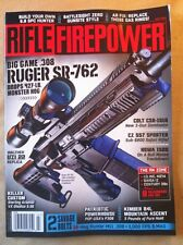 Rifle Fire Power July 2014 FREE SHIPPING, Ruger SR-762, Colt CRS-1516, AK