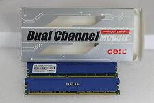 GEIL 2GB (2 x 1GB)  Dual Channel PC3200 GE2GB3200BDC CL =2.5-6-3-3
