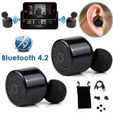 Mini Pro True Wireless Bluetooth Twins Stereo In-Ear Headset Earbuds Earphone US