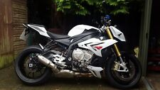 BMW S1000R TITANIUM GPS SLIP ON CAN EXHAUST POWERTECH