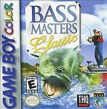 Bass Master Classic GBC New Game Boy Color