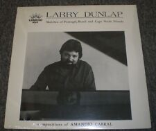 Portugal Brasil and Cape Verde Islands Larry Dunlap~SEALED~Private 1984 Piano