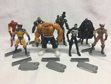 "8 Marvel Universe 3.75"" Lot Wolverine Nick Fury War Machine Punisher Thing"