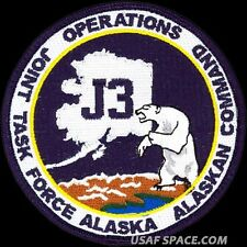 USAF JOINT TASK FORCE ALASKA - OPERATIONS - ORIGINAL AIR FORCE PATCH