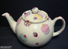1 Heron Cross Pottery Cup Cakes Chintz 3 English Cup Tea Pot or 2 mugs