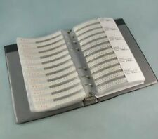 0402 SMD 3300pcs Resistor and 950pcs Capacitor Sample Book