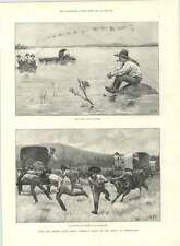 1890 British S Africa Police Mashonaland Litsani Flooded Fj Osmond Cycle Champ