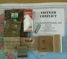 Military Vietnam USArmy USMC C-Ration C-Rations - ONE Accessory w Cigs Free P38.