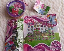 My Little Pony Jewelry Set, 48 Sticker Earrings, 4 pk Ring Set - Party