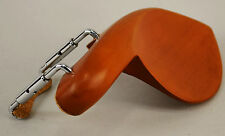 Musaica Violin Chinrest Strad Style 30 mm in Boxwood w/Std Brackets Accessory