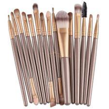 15 Cosmetic Make-up Brushes Powder Blusher Lip Foundation Kabuki Contour Set HOT