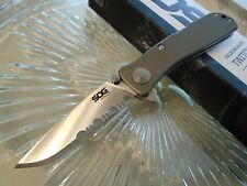 """Sog Twitch II Assisted Open Tactical Pocket Knife Aus-8 2 Locks TWI98-CP 6.2"""" Op"""
