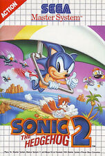 ## Sonic The Hedgehog 2 - SEGA Master System / MS Spiel - TOP ##