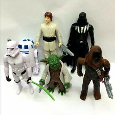 6x Star Wars Luke Yoda Darth Vader Stormtrooper R2-D2 Lighting Action Figures
