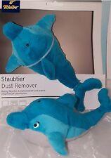 Tchibo TCM Schmusetier Staubtier Delphin Delfin Plüsch weiß blau NEU!