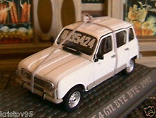 RENAULT 4 GTL BYE BYE DE 1992 UNIVERSAL HOBBIES 1/43 M6 COLLECTIONS WEISS WHITE
