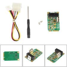 Mini PCI-E to PCI-E Express 1X Extension Cord Adapter Card with USB Port