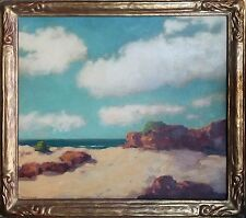 Arthur Harold DeWitt Knott Original Oil Painting of Land/Seascape Morrow Bay