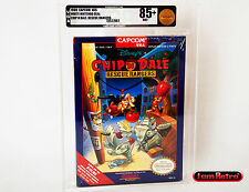 Chip N Dale Rescue Rangers CAPCOM Nintendo NES New Sealed VGA 85+ Mint Gold SNES