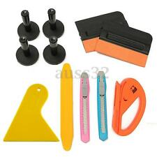 11pcs Car Film Wrap Vinyl Tools Kit Scratch Squeegee Razor Cutter 4 Magnets