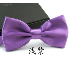 PreTied Mens Dickie Bow Tie Ties Wedding Prom Clip On Adjustable Various Colours