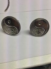 Yin and Yang 1 PP-G66 Fine English Pewter Cufflinks