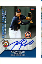 Kevin Padlo 2016 Midwest League All Star auto signed card Bowling Green
